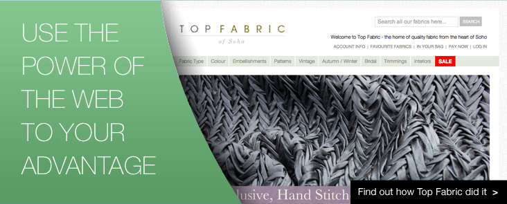 Find out how Top Fabric use the power of the web